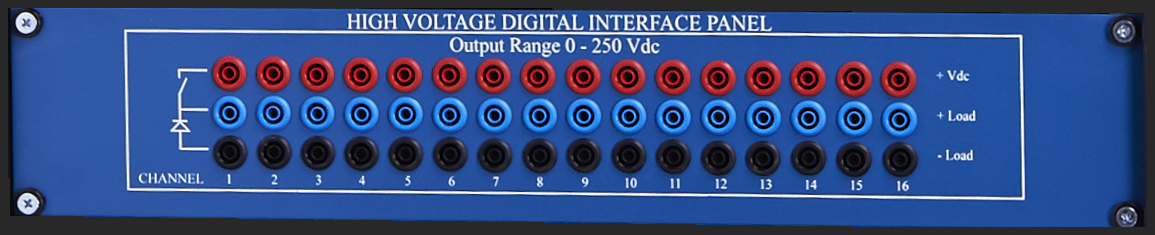 High Voltage Digital Interface Panel